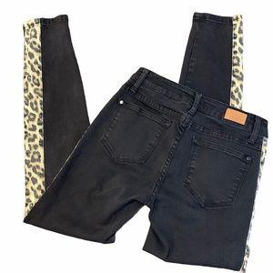 Judy Blue Jeans Wild Instincts Skinny Fit Leopard